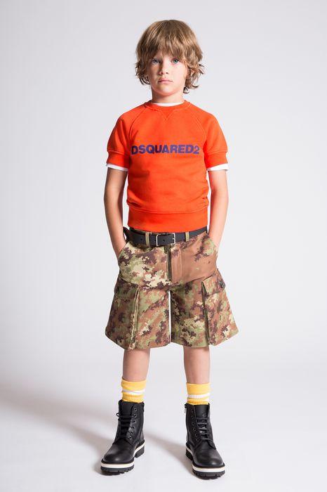 d2 short sleeves sweatshirt tops & tees Man Dsquared2