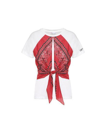 REDValentino T-Shirt Woman PR0MG08Z3QN BH9 a