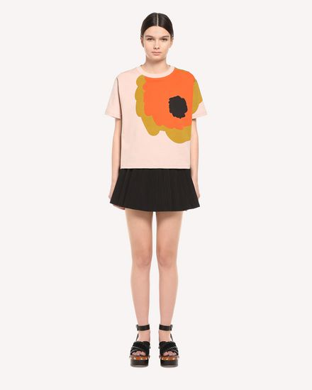 REDValentino T-Shirt Woman QR3MG10V48Q 377 f