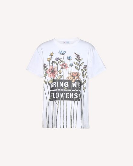 "T-Shirt mit  ""Garden of Metamorphosis"" Print"