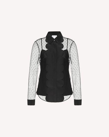REDValentino Shirt Woman QR3AB1P51GW 0NO a