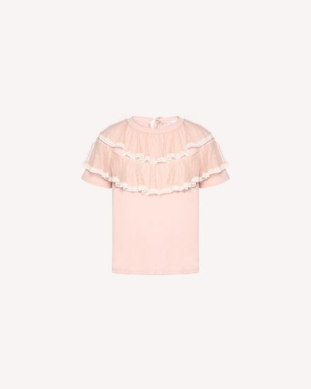 REDValentino T-Shirt Woman QR3MG09T40G 377 a