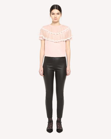 REDValentino T-Shirt Woman QR3MG09T40G 377 f