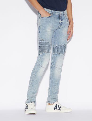 아르마니 익스체인지 Armani Exchange Skinny jeans,Blue