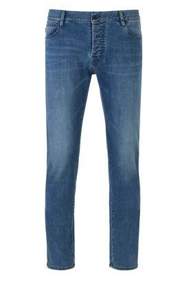 Armani 5 tasche Uomo j12 jeans regular fit 5 tasche