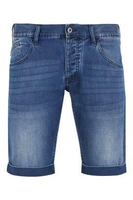 Armani Bermuda shorts Men solid colour denim shorts