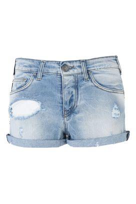 Armani Bermuda Donna shorts in jeans con strappi
