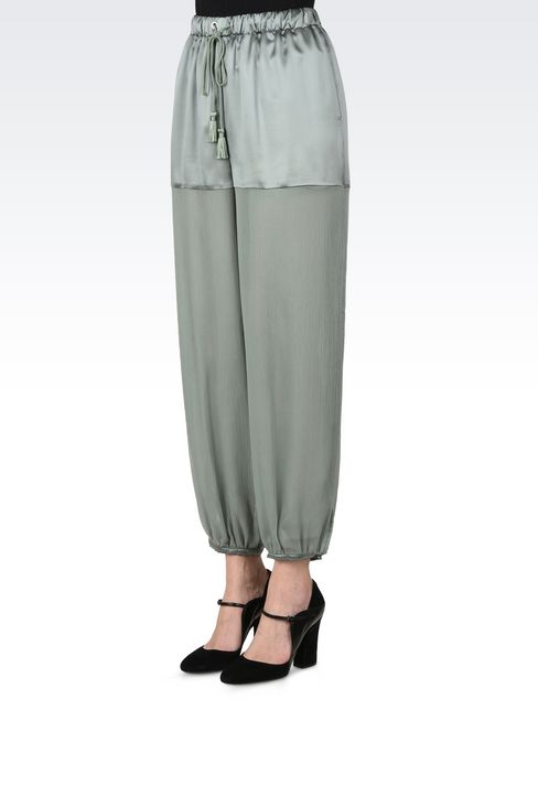 Trousers: Trousers Women by Armani - 3