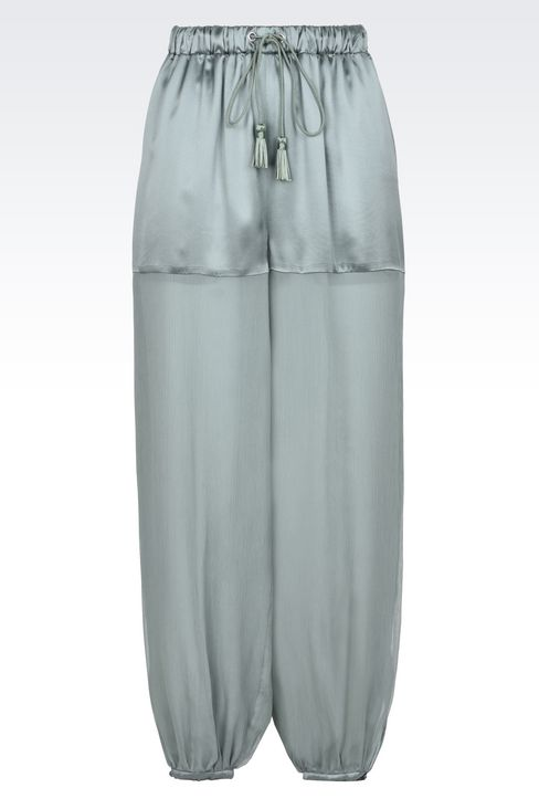 Trousers: Trousers Women by Armani - 1