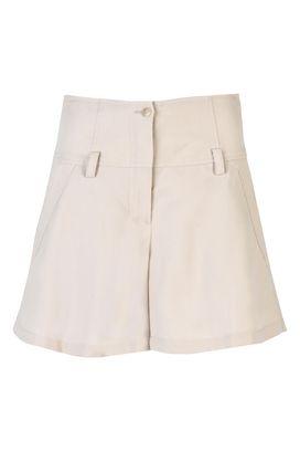 Armani Shorts Donna shorts in gabardina di tencel leggera