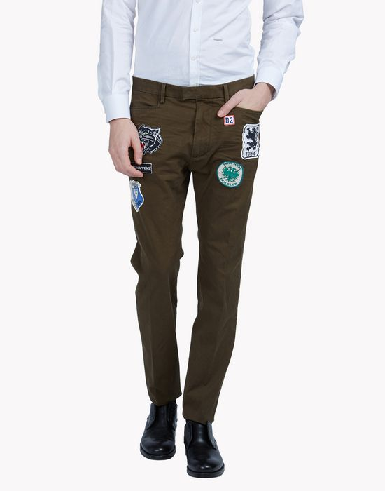patch cargo pants pantalones Hombre Dsquared2