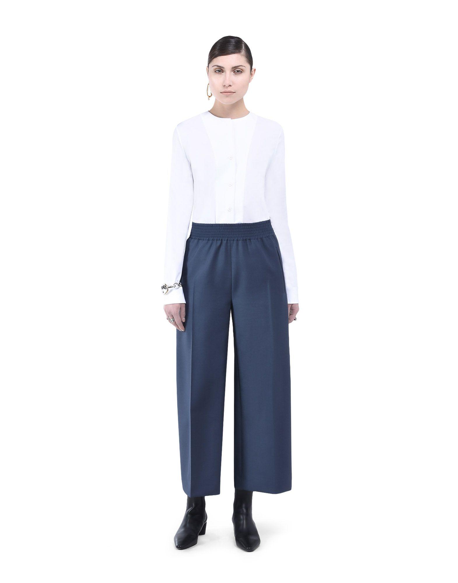 Wide-Leg Trousers - JIL SANDER Online Store