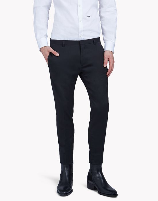 wool dan pants trousers Man Dsquared2