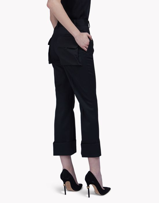 multi-pocket slouch pants pantalones Mujer Dsquared2