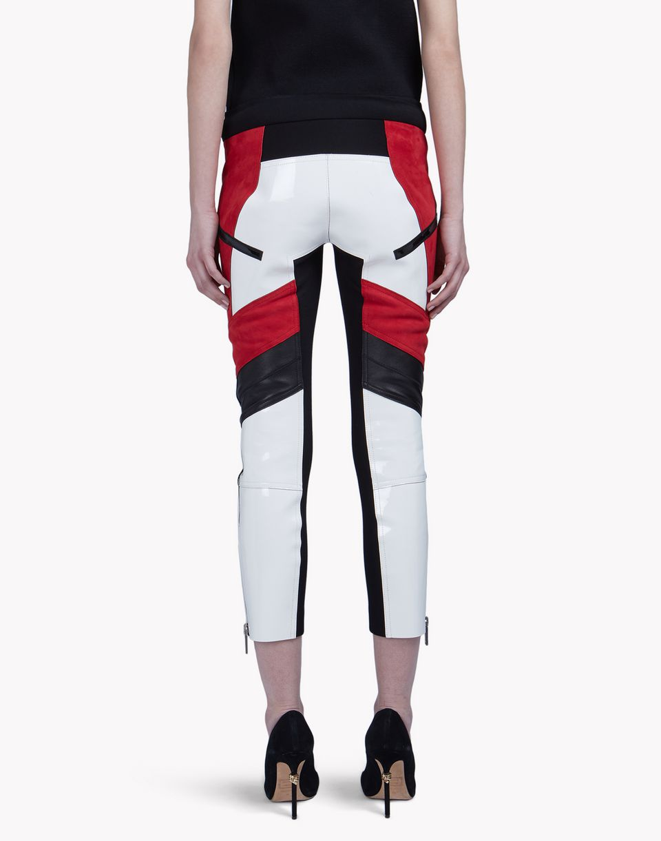 leather neoprene pants hosen Damen Dsquared2