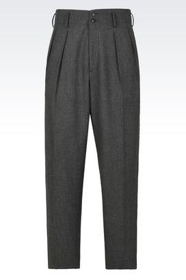 Armani Pantaloni classici Uomo pantaloni in tela tecnica