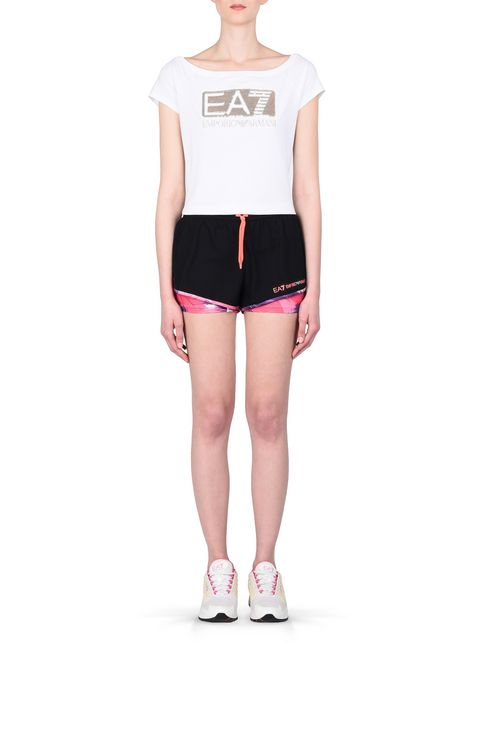 SHORTS IN TESSUTO TECNICO : Shorts Donna by Armani - 2