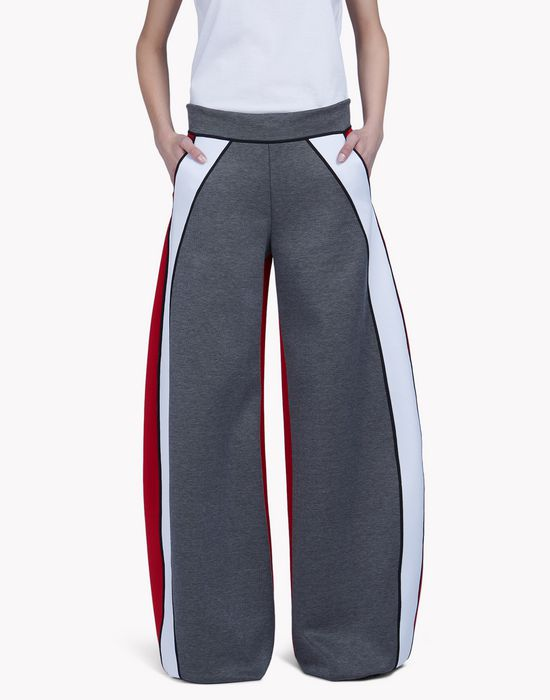 oversize contrast pants trousers Woman Dsquared2