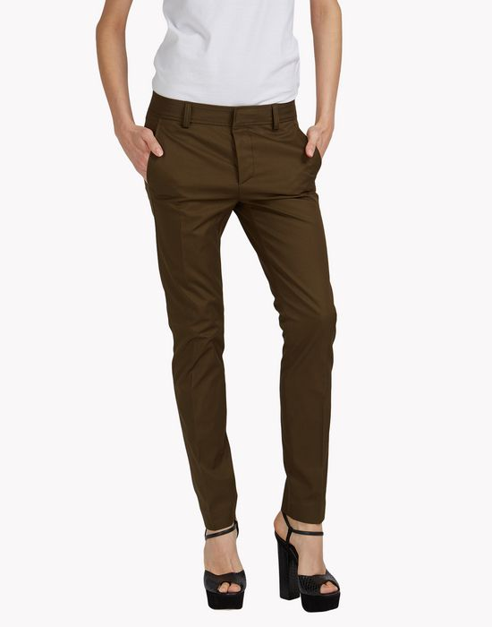 cool girl cargo pants trousers Woman Dsquared2
