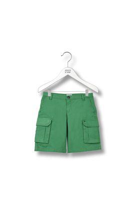 Armani Shorts  Men stretch cotton cargo bermuda shorts