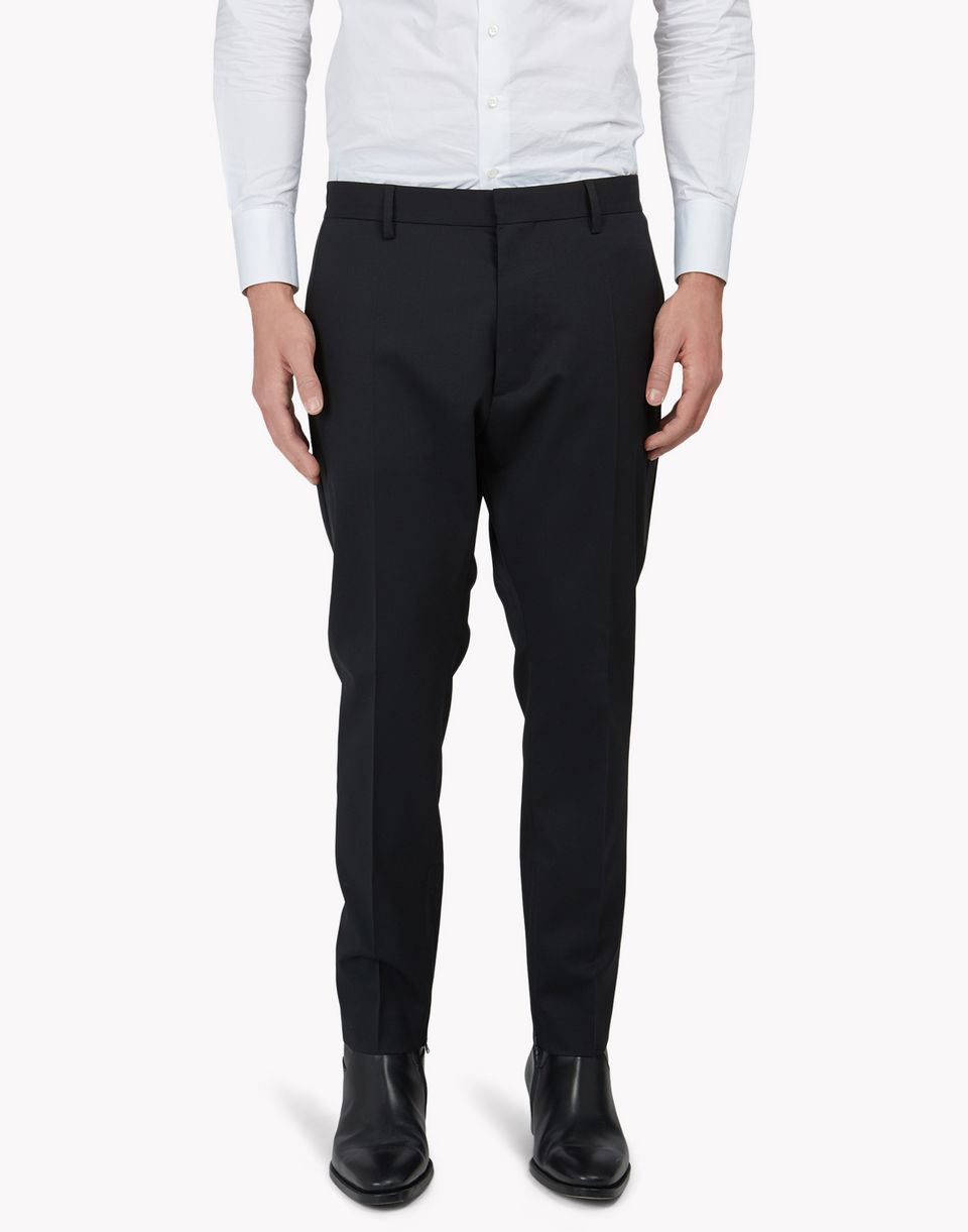 thermo-sealed wool pants trousers Man Dsquared2