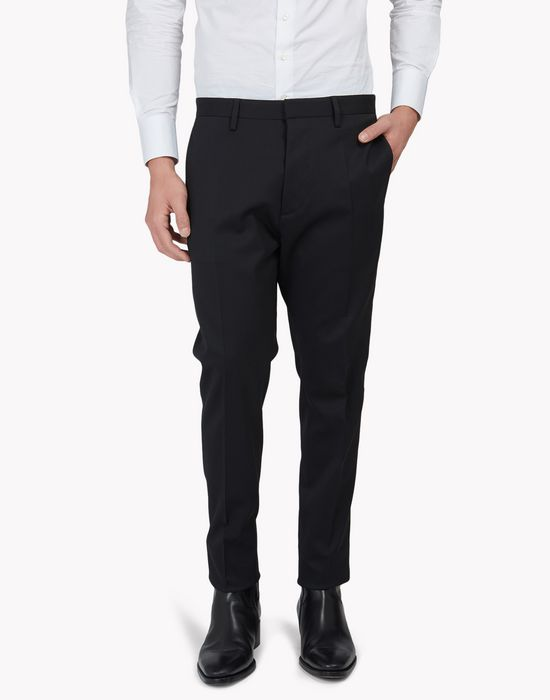 stretch wool pants trousers Man Dsquared2