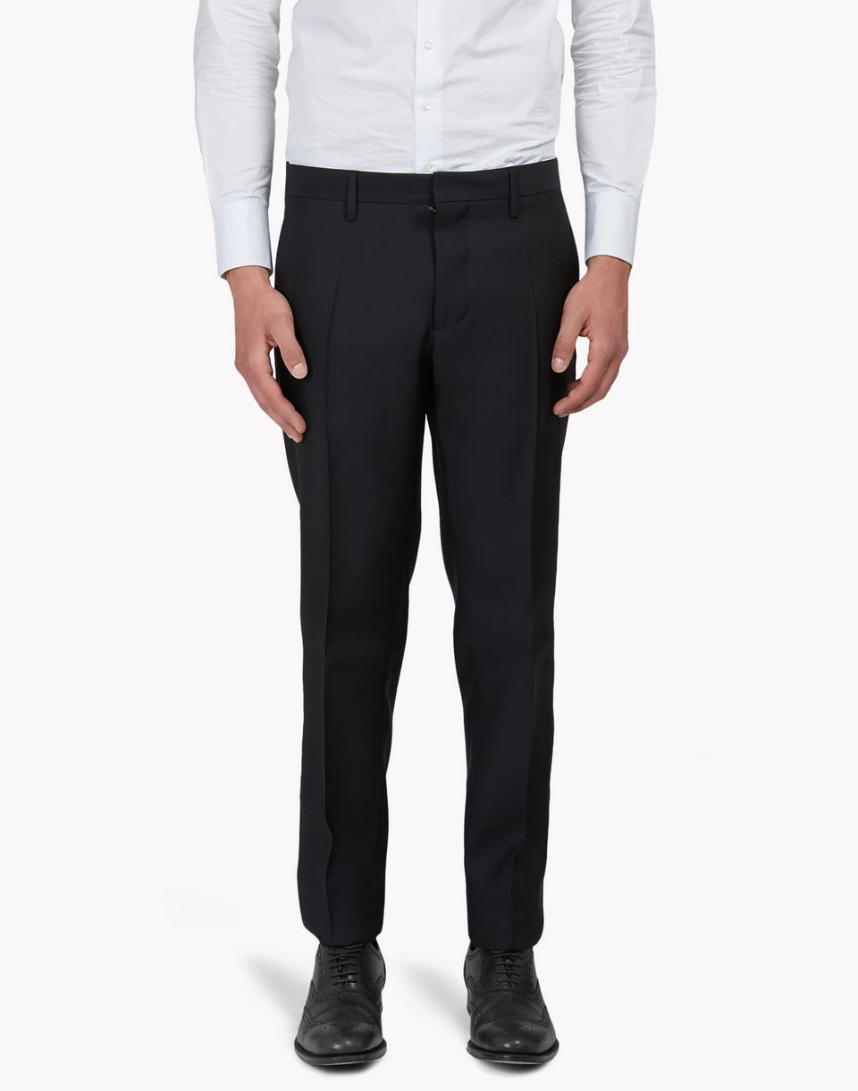 wool silk pants trousers Man Dsquared2