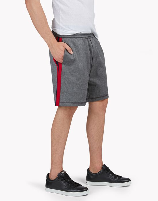 contrast sweatshorts pants Man Dsquared2
