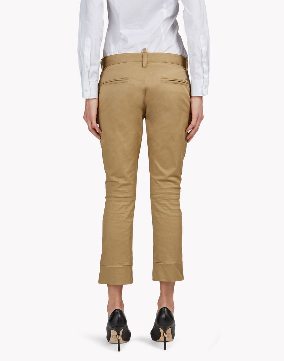 ick pants trousers Woman Dsquared2