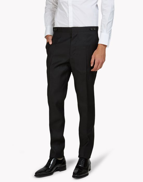 tuxedo wool pants trousers Man Dsquared2