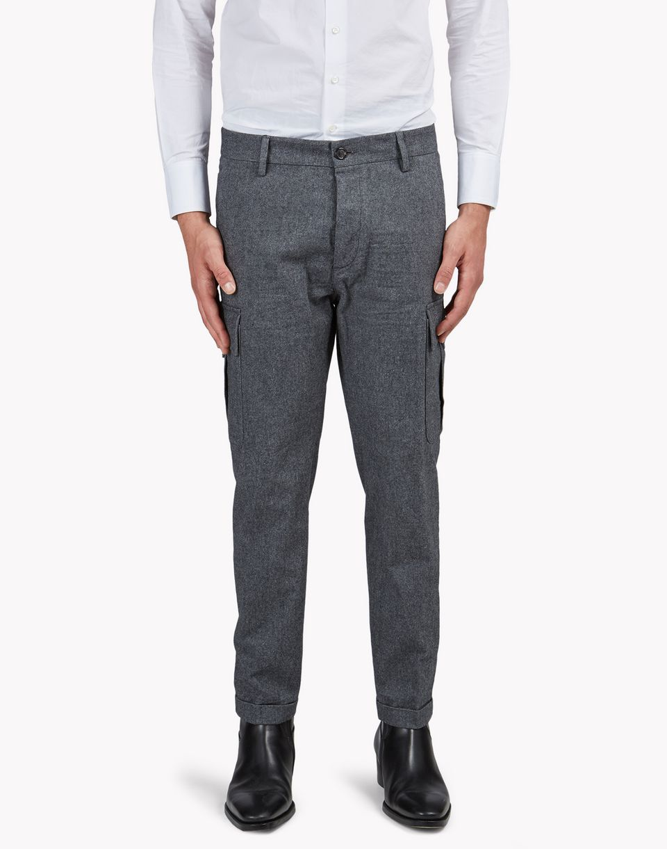 flannel cargo pants pants Man Dsquared2