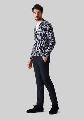 Armani Classic Pants Men classic wool and silk trousers