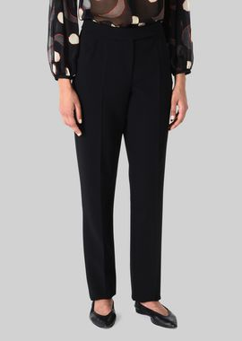 Armani Pants Women double wool trousers
