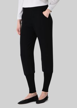 Armani Pants Women silk cady sweatpants