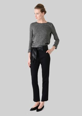 Armani Pants Women classic stretch wool trousers
