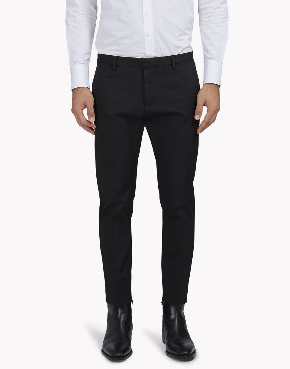 stretch wool skinny dan pants trousers Man Dsquared2