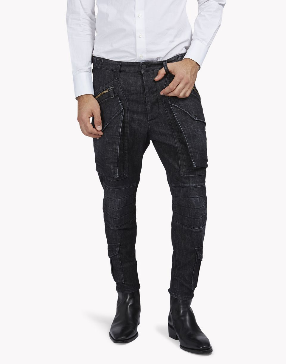 hockney biker pants trousers Man Dsquared2