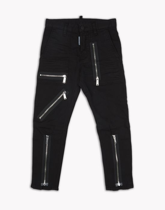 zipped pants pantaloni Uomo Dsquared2