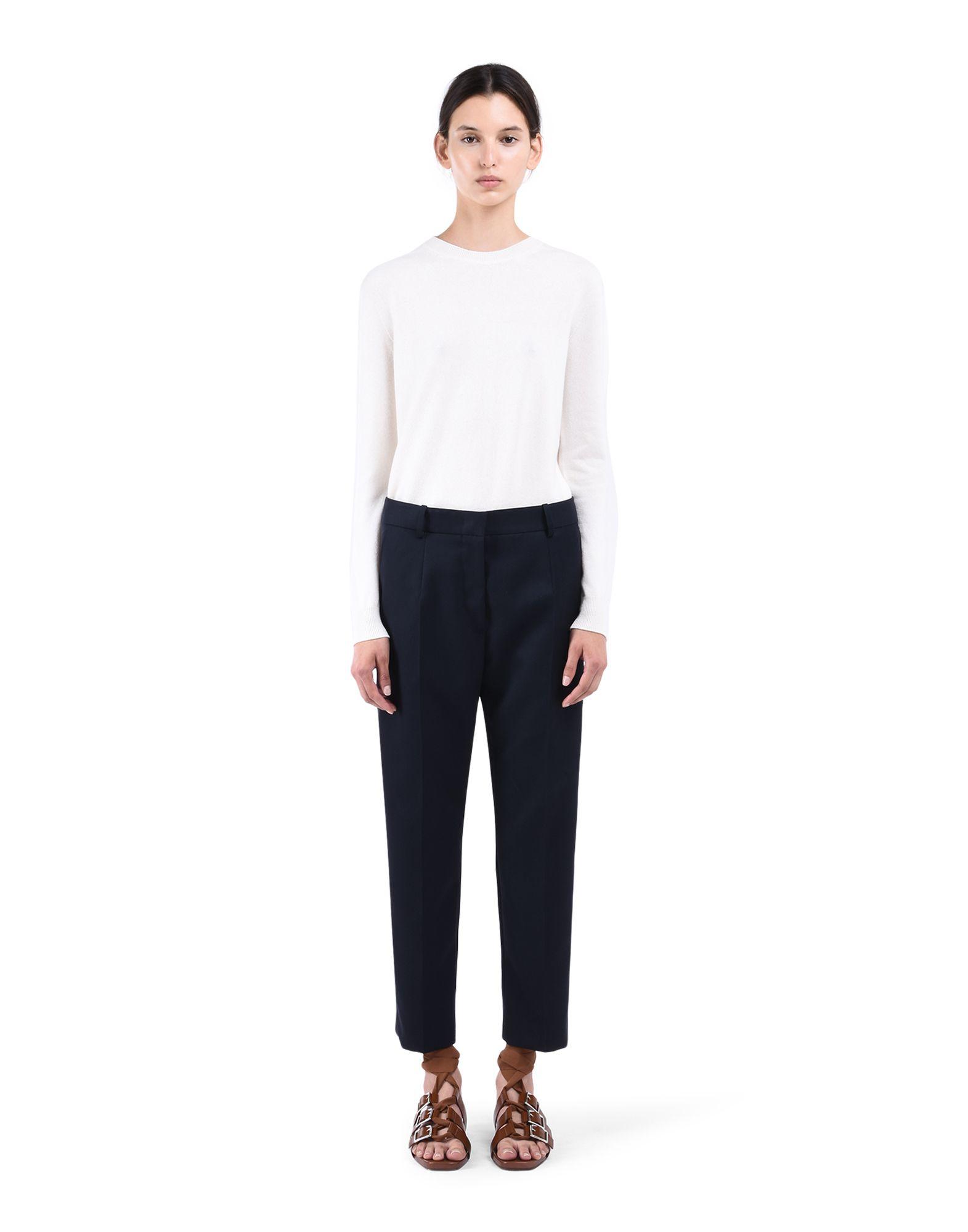 Cropped Trousers - JIL SANDER Online Store
