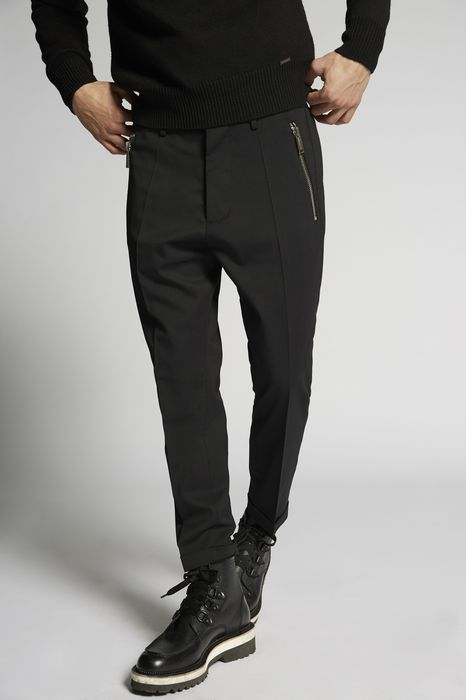 stretch wool hockney pants pants Man Dsquared2
