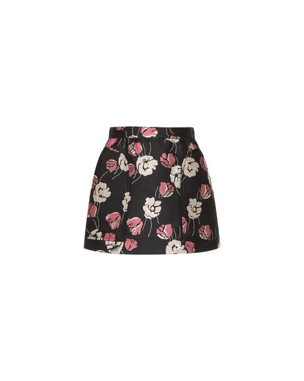 REDValentino Shorts Woman PR3RF1203FE 0NO a