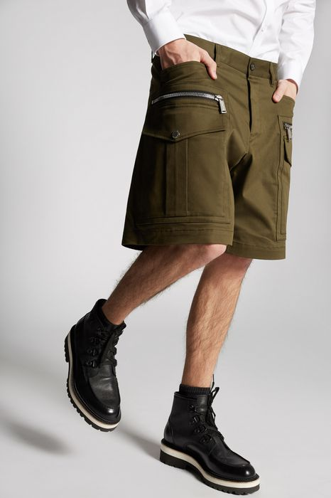 cotton cargo shorts trousers Man Dsquared2