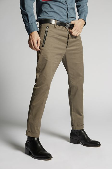 zipped pockets skinny dan pants pants Man Dsquared2