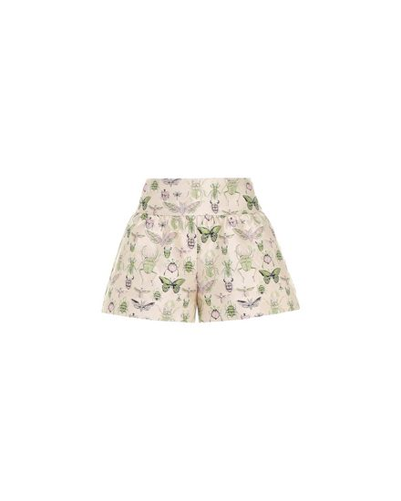 """""""Insects"""" brocade shorts"""