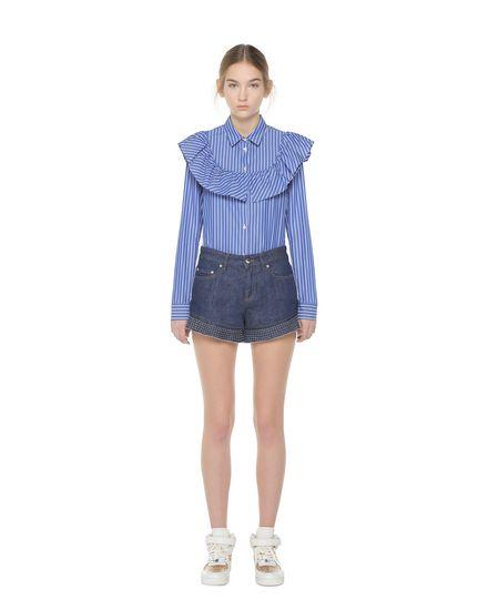 REDValentino 短裤 女士 PR3DD02D3HF 518 f