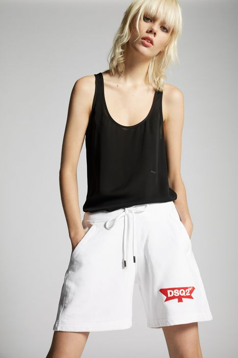 cotton over shorts pants Woman Dsquared2