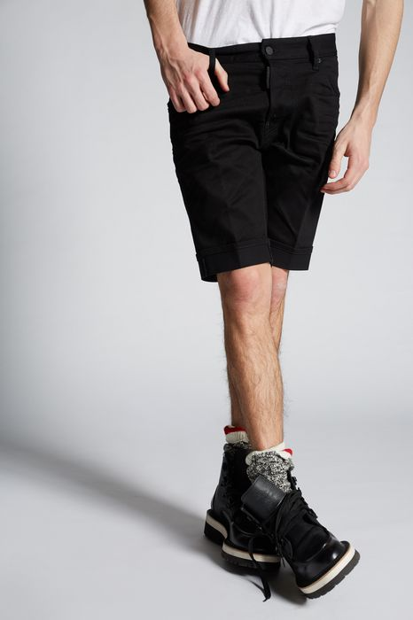long mod denim shorts trousers Man Dsquared2