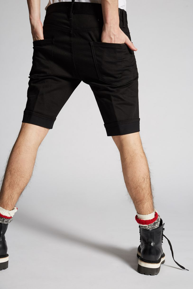long mod denim shorts trousers Man Dsquared2