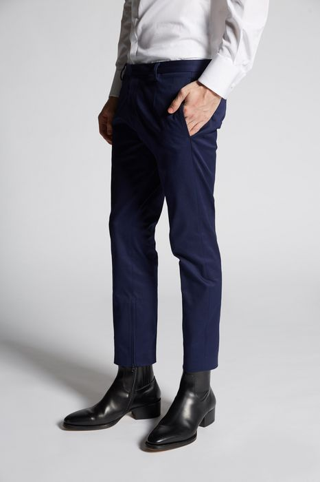 skinny dan cotton pants pantaloni Uomo Dsquared2
