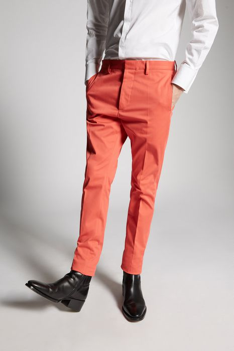 hockney cotton pants pants Man Dsquared2